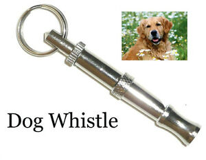DOG-TRAINING-OBEDIENCE-WHISTLE-ADJUSTABLE-PITCH-PUPPY-TRAIN-Stop-Barking