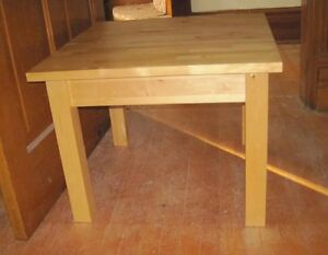 oak coffee and end tables Cambridge Kitchener Area image 1