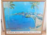 Raoul Dufy Baie Des Anges Professionally framed art print.
