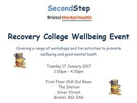 Recovery College Wellbeing Event