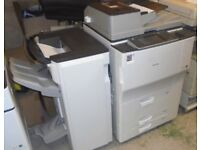 Ricoh MP7502SP Mono fast photocopier with Booklet Finisher in stock,