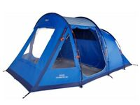 Brand new 5 man vango drummond tent with double air bed &footprint