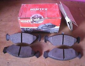 Brake pads Ford KA and others models. Also fits some Mazda's.