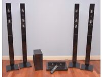 Samsung Blu-ray 5.1 Home Entertainment System with 4X Tallboy Speakers