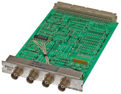 Truetime Symmetricom 86-379-16 Xl-dc Quad Output Irig-b Timecode Expansion Card
