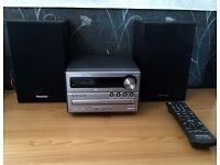 Panasonic CD player with remote
