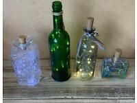 Mix of bottle lights