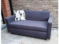 IKEA grey two seater sofa bed