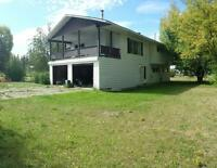 Quesnel home ( Kersley. .15 min south of Quesnel )