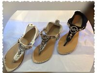 Women's sandals MK & Chanel