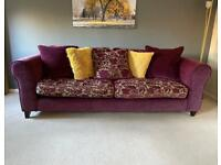 Lovely large 3 seater DFS sofa