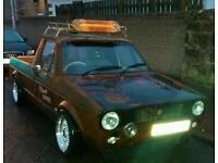 Vw mk1 caddy pick up