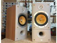 B&W DM602 S3 Speakers. Sorrento finish. Bowers & Wilkins. Refurbished