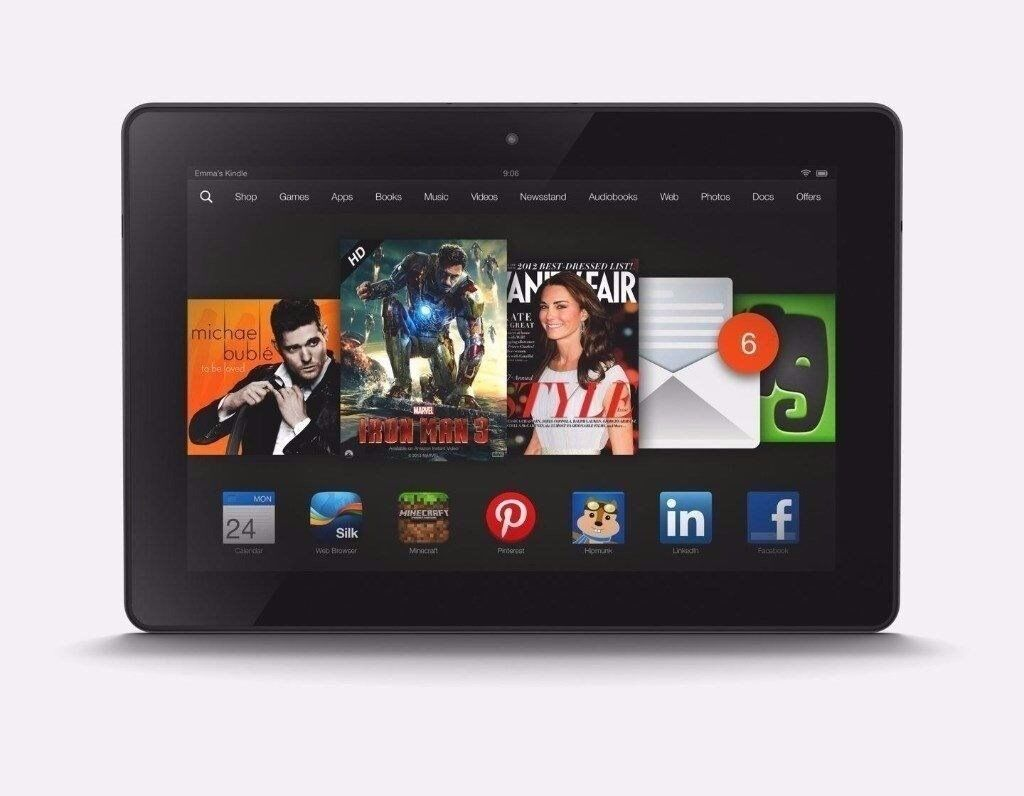 Amazon Kindle Fire HD 8.9 Inch, Dolby Audio,