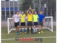 Spaces for new teams! 5-a-side leagues in Marylebone!