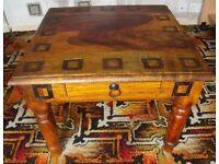 Sheesham square side table