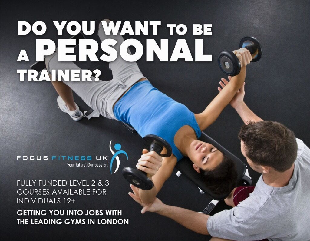 Personal training jobs- with training available