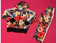 Kids Floral Tracksuit Brand New