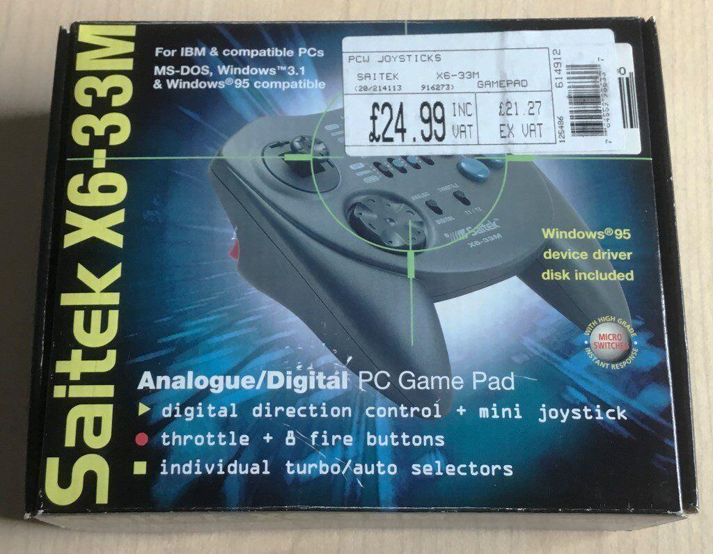 Saitek X6-33M gamepad / Creative labs soundblaster live! 5 1 / Creative  labs modem | in Stoke-on-Trent, Staffordshire | Gumtree
