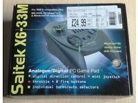 Saitek X6-33M gamepad / Creative labs soundblaster live! 5.1 / Creative labs modem