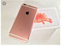 IPhone 6s Plus rose gold (bran new condition)