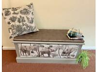 Storage ottoman/ window seat