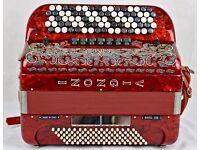 Vignoni Ravel 200 Accordion - 5 Row Chromatic C-System With MIDI & Mics - With Free OMB3 Module