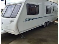 2008 Sterling Europa 600 (6 Berth, Fixed Bunks, Full End Washroom)