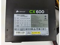 Corsair CX600 80 PLUS Bronze Certified Power Supply