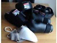 Matt Fiddes Martial Arts Sparring Kit Protective Guard size S Small