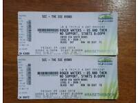2 x Roger Waters Tickets for The Hydro 29th June 2018