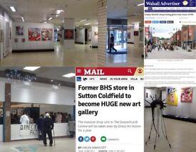 Direct Art Action, Art Gallery.