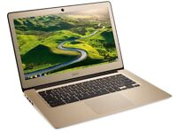 Gold Acer Laptop