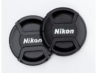 77mm centre pinch lens cap for Nikon lenses