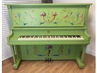 Stunning Art Case Upright Piano - Delivery