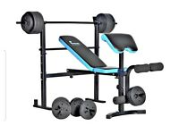 MENS HEALTH - FOLDING WEIGHTS BENCH (plus 122kg)
