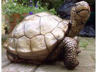 XXXL Stone Tortoise - Turtle Garden Ornament Weatherproof