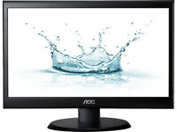 "18.5"" AOC E950swdak LED Monitor - New in Box"