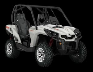 2017 can-am Commander 1000 DPS $50.50/week (120 months@7.99%) +