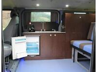 2010 Ford Torneo Campervan and camping awning