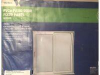 BARGAIN!! Need gone ASAP PVC Patio Doir,Fixed Panel Brand NEW