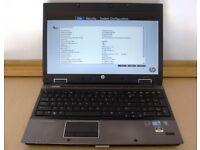 HP EliteBook 8540w Laptop Core i7 M620 2.67GHz 12GB 500GB SSHD Webcam I