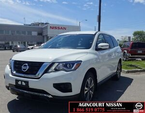 2017 Nissan Pathfinder S 4X2 |Low KMS|Bluetooth|Non Rental|