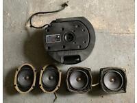Audi Bose Sound System Speakers.