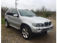 BMW X5 3.0 Sport, Auto, Diesel, Metallic Silver 5 Dr, High Spec, Service History,