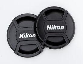 NIKON LENS CAPS IN VARIOUS SIZES