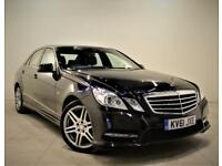 MERCEDES-BENZ E CLASS 3.0 E350 CDI BLUEEFFICIENCY SPORT ED125 4d AUTO 265 BHP (black) 2011