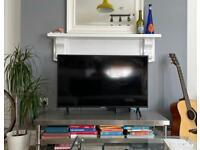 Modern metal TV stand
