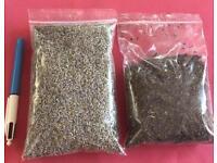 Dried herbs lavender & lemon balm