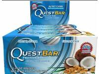 Quest Nutrition Protein Bars - Coconut Cashew - BBE: DATED 28 OCT 2017